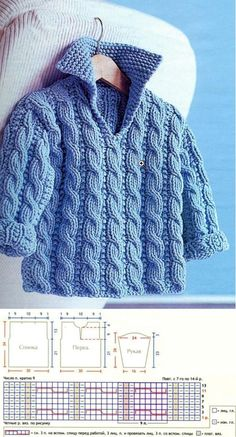 Ladies Cardigan Knitting Patterns, Baby Boy Knitting Patterns, Baby Sweater Patterns, Knit Baby Sweaters, Knitting For Kids, Girls Sweaters, Baby Patterns, Baby Kind, Crochet Clothes