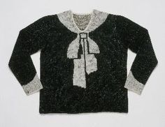 Elsa Schiaparelli bow sweater
