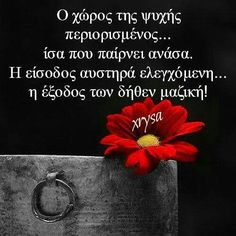 Greek Quotes, Motivation Inspiration, Lyrics, Inspirational Quotes, Notes, Feelings, Sky, Pictures, Life