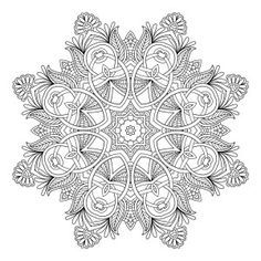 Mandala 10 FREE - Craft Haven Free Coloring Pages