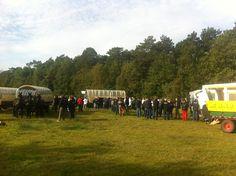Koffie stop op een bijzondere plek tijdens een dealer event http://www.mooi-weer.nl