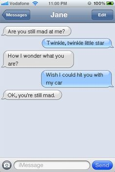 Are you still mad at me?