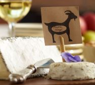 wine and goat cheese party...yum!