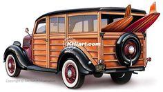 Woody Car Drawing