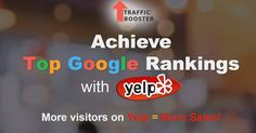 Traffic booster - best way to increase rankings and positions for your yelp business, pay for positive yelp reviews and be in top http://targetbooster.com/