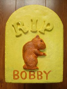 For 'Bobby' the Gerbil