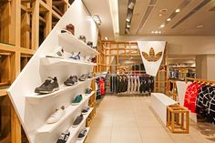 adidas Originals Fashion Space by ONOMA Architects
