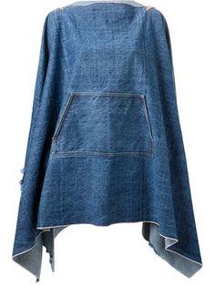 reciclaje vestido capucha cremallera - Buscar con Google