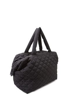 Iconic Cosmetic Bag | FOREVER21 It's time for a new makeup bag ... : quilted weekend bag - Adamdwight.com