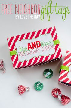 Christmas Neighbor Gifts by Love The Day