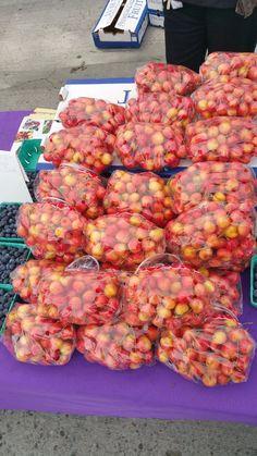 Torrance City Farmers Market - Torrance, CA, United States. Rainier cherries! My favorite of all favorites!!!!