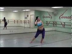 Belly Dance Combo for an Elegant Ending - YouTube
