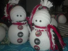 Sock Snowmen or Snow Babies As I Like To Call Them. Make them for all seasons