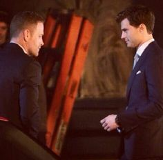 The sexy Boss ♥ Jamie Dornan, Max Martini - Christian Grey - Jason Taylor