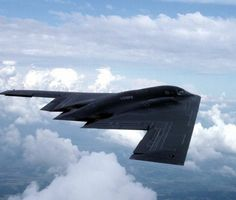 B2 bomber: the flying wing.