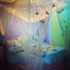 unicorn bedroom decor - Internal Home Design Room Ideas Bedroom, Bedroom Themes, Girls Bedroom, Cute Room Ideas, Cute Room Decor, Hm Deco, Chambre Indie, Unicorn Bedroom Decor, Bohemian Room