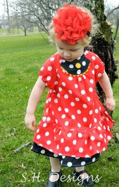 Sew and Tell Review of the Clara Dress.  25% off during May!!