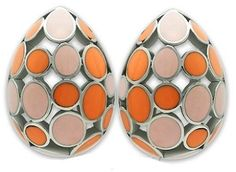 Stainless Steel High Polish Earrings MultiColor for $15.99 Shipped
