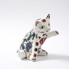Dekoratif Büyük Kedi - Kütahya Çini ve El Sanatları
