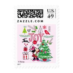 Minnie Mouse | Minnie's Christmas Joy Postage
