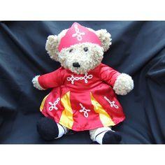 Cuddly Irish Dancer Girl Bear - Red