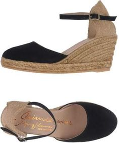 Gaimo Women Espadrilles on YOOX. The best online selection of Espadrilles Gaimo. YOOX exclusive items of Italian and international designers - Secure payments Women's Espadrilles, Plus Size Fashion, Womens Fashion, Fashion Trends, Footwear, Wedges, Fancy, Ankle, Sandals