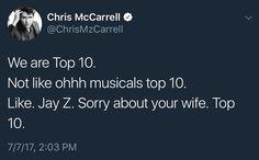 The Lightning Thief Musical Cast Album made Top 10 you guys…