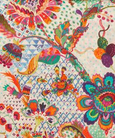 Liberty Art Fabrics Grand Bazaar Tana Lawn Cotton | Fabric | Liberty.co.uk