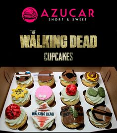 Walking Dead Cupcakes by Sweet Retreat Cupcake Boutique