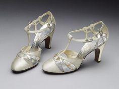 Pair of sandals, Jack Jacobus Ltd., 1935.