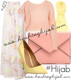 Peach Modest Outfits, Modest Fashion, Hijab Fashion, Girl Fashion, Fashion Outfits, Fashion Sets, Hijab Casual, Hijab Chic, Hijab Outfit