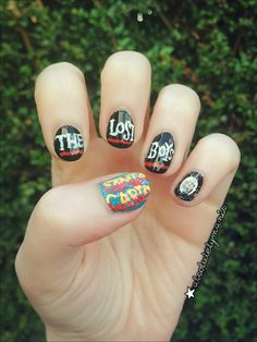 LOST BOYS NAILS I GOTTA TRY THIS!!!!!!!!!!!!!!!!!!!!!!!!!!!!!!!!!!!!