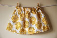 DIY Simple Skirt - FREE Sewing Tutorial