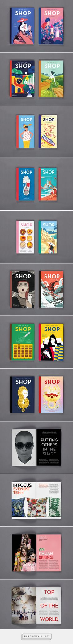 SHOP Magazine 2015, an international luxury shopping and travel guide published…
