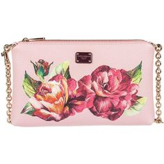 c1c0e809681c Flower Print Clutch (13.360.285 VND) ❤ liked on Polyvore featuring bags