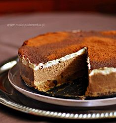 My Favorite Food, Favorite Recipes, Gluten Free Recipes, Healthy Recipes, Mousse Cake, Vegan Sweets, Delicious Desserts, Deserts, Food Porn