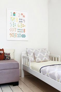 Babyology Exclusive - new unisex Olli Ella Piccoli + Moona bedding, plus new art prints & larger sleepbags! Big Girl Bedrooms, Kids Bedroom, Bedroom Ideas, Nursery Ideas, Toddler Rooms, Toddler Bed, Kids Rooms, Girl Room, Baby Room