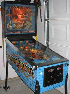 D pinball.Kat and I actually got to play one of these at GenCon one year. Flipper Pinball, Pinball Wizard, Penny Arcade, Jon Boy, Gamer Room, Machine Video, School Games, Old Coins, Dungeons And Dragons