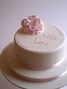 with love cake