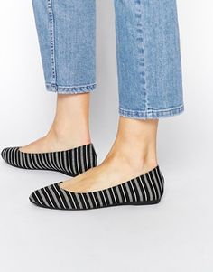 I love a striped flat show - these are from  ASOS
