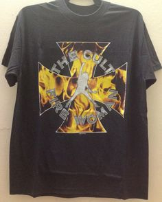 Rare Vintage The Cult Fire Women Concert Tour 1989 by VINTAGESHIRT Rock T Shirts, Band Merch, Hard Rock, Heavy Metal, Fire, Hoodies, Concert, Trending Outfits, Awesome