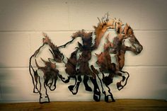 Hey, I found this really awesome Etsy listing at https://www.etsy.com/listing/116064331/wild-horse-stampede-wall-art