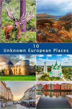 10 Unknown European Places To Visit When Lockdown Is Over - Journey of a Nomadic Family Travel Around Europe, Places In Europe, Europe Travel Tips, Travel Destinations, European Destination, European Travel, Romantic Getaway, Cool Places To Visit, Family Travel