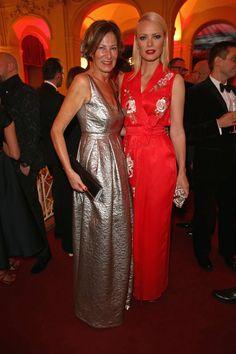 Pin for Later: Diese Mädels stahlen den Männern die Show bei den GQ Awards in Berlin Eva Lutz und Franziska Knuppe