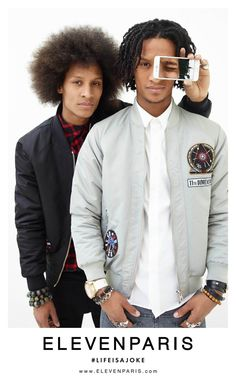 Les Twins collaborate with French fashion brand Eleven Paris for a new capsule collection. The popular dancing brothers front a campaign for the range, connecting with photographer Felix Cooper. Les Twins are styled by Ronan Pecher. Related