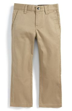 Volcom 'Modern' Stretch Chinos (Toddler Boys & Little Boys) available at #Nordstrom