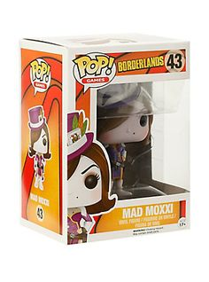 Funko Borderlands Pop! Games Mad Moxxi Vinyl Figure,