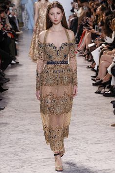 Elie Saab Spring 2017 Couture: Monica Bellucci