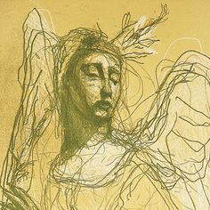 Artist: Kuutti Lavonen: Surullinen enkeli (Sad Angel, detail) (yksityiskohta). Toni Vuori/TMK