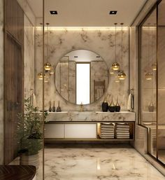 A collection of gorgeous bathroom interior decorating and decorating pins. I really hope this board inspires you to make your dream master bathroom. Washroom Design, Toilet Design, Bathroom Design Luxury, Modern Luxury Bathroom, Sink Design, Contemporary Bathrooms, Contemporary Style, Home Room Design, Home Interior Design